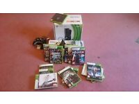 Xbox 360 250gb with Kinect Sensor, Games and more