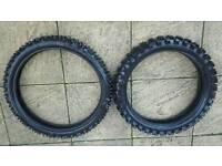 Brand news Innova Cross/KTM tyres 100/90-19 ; 80/100-21