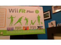 Nintendo Wii Fit Board with Wii Fit and Instructions
