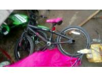 Girls 16inch bmx bike
