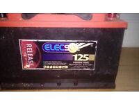x2 used 12v leisure batteries