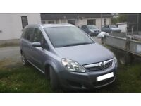 Vauxhall Zafira 2008 1.9 Diesel, 119000 miles (MOTed to April 2019)