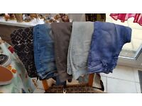 4 Pairs Jeans +1 x Leggings size 10 Great cond