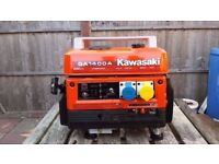 Kawasaki Portable Suitcase Generator GA1400A Generator Immaculate Condition