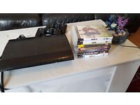 PS3 and 7 different games