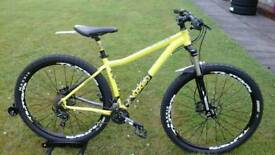 SOLD STUNNING UPGRADED VOODOO BIZANGO 29ER HYDRAULIC DISC MOUNTAIN BIKE * FULLY SERVICED *