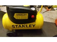 Almost new Stanley comperssor