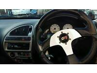 Momo steering wheel with saxo boss