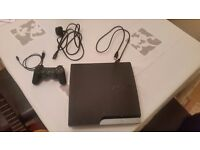 £50 ono Ps3 slim 320gb + controller + hdmi + charging cable + power cable (no box)