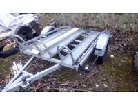 Motorbike trailer fully equiped exellent condition offers near or around £300