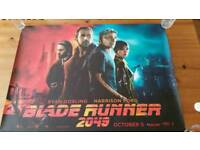 "Blade Runner 2049 UK movie Quad poster, 30""×40"""