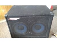 Ashdown 2x10 bass guitar speaker cab