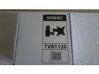 Duronic tvb1120 tv wall mount/bracket, BRAND NEW,
