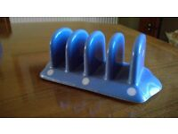 TG Green Blue Domino Toast Rack