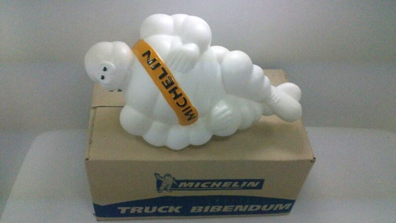 "16/"" new limited Michelin man doll figure Bibendum advertise tire truck with box"
