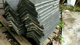Roofing rdge tiles