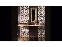Bathroom tiling, plumbing