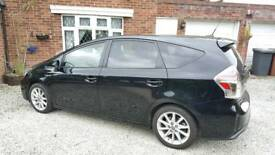 Prius+ 7 seater excel plus with entertainment system
