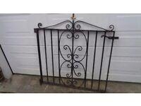 Very Heavy Wrought Iron Gate
