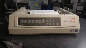 OKI ML320 Turbo Matrix Impact Printer PARALLEL *W/O COVER, SEPARATOR, PULL UP*
