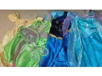 Disney Dressing up dress bundle Age 5-6.