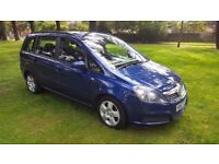 Vauxhall Zafira 1.9, CDTI Exclusive, Diesel, 5dr, HPI Clear, 7 Seats. 6 Months Warrant