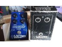 "70's Vintage Locobox ""Spaceship"" Flanger. Boxed. Very Rare!"