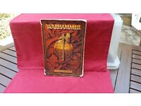 GAMES WORKSHOP - WARHAMMER BOOK - THE GAME OF FANTASY BATTLES