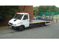 Iveco Daily Beavertail Recovery truck with MOT
