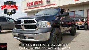 2014 RAM 1500 ST Tradesman Crew Cab - 4x4 Truck - $150 B/W