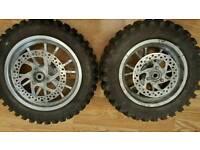 Mini moto wheels