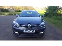 2014 Renault Megane 1.5 DYNAMIQUE TOMTOM ENERGY DCI S/S 5d **ZERO TAX** **ONE OWNER **