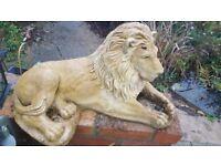 Garden lions