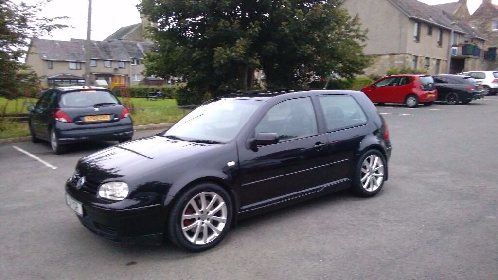 vw golf mk4 2 8 v6 4motion in cupar fife gumtree. Black Bedroom Furniture Sets. Home Design Ideas