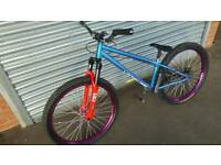 Custom saracen amplitude jump bike swaps
