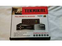 HD Freeview Box with USB