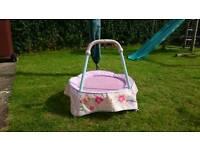 Baby trampoline (pink)