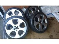 """Wheels and tyres WV GTI MONZA 18"""""""