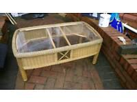 Set of bamboo furnitures