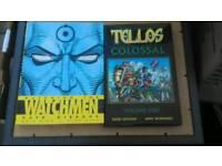 Watchman Tellos and Jeff Hawke books