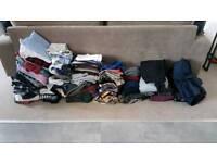 Bulk Mens Clothes - 100 items!