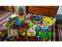 Kids toys Fisher price and very tech