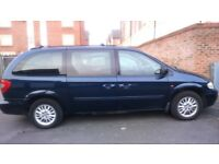 Chrysler Gran Voyager 2.8crd LX Diesel Automatic Stow & Go 7 seats