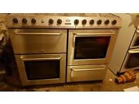 Belling cookcentre dual fuel range cooker