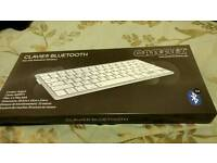 Azerty Bluetooth wireless keyboard