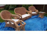 Cane Conservatory Furniture - Full set, Cane Industries Westbury Range