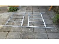 Raised floor base for shed. Galvanised steel, used but great condition.