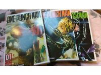 One Punch Man volumes 1-3