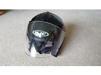 HJC IS-33 Lightweight Open Face Crash Helmet - 3 Months old