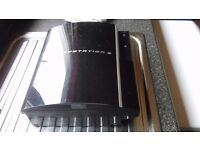 Bargain Ps3 great condition jst a few scratches, works perfect , comes with control pad